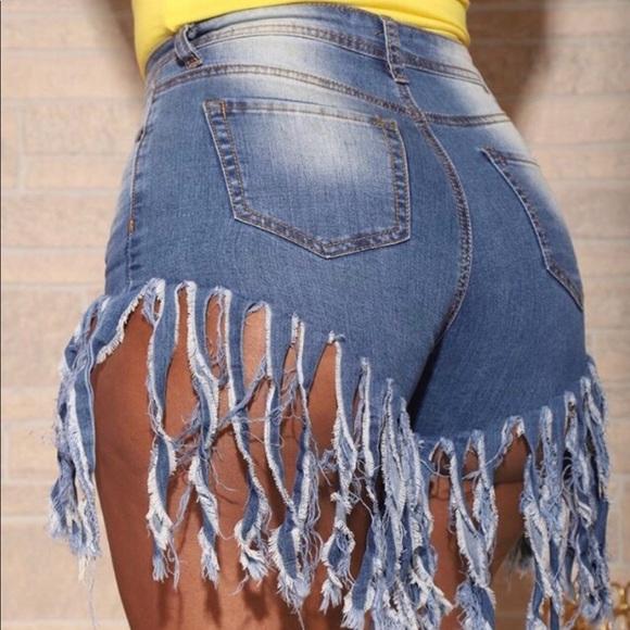 huge sale low priced pre order Denim Shorts. Boutique